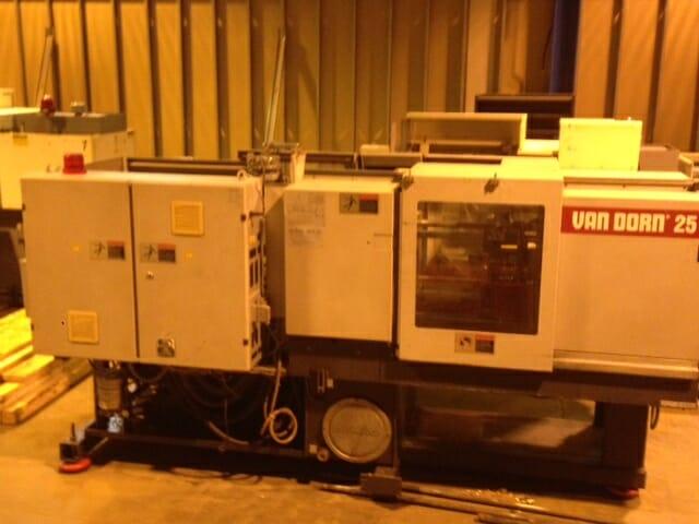 25 Ton Van Dorn   250-80 2 Van Dorn 25 ton