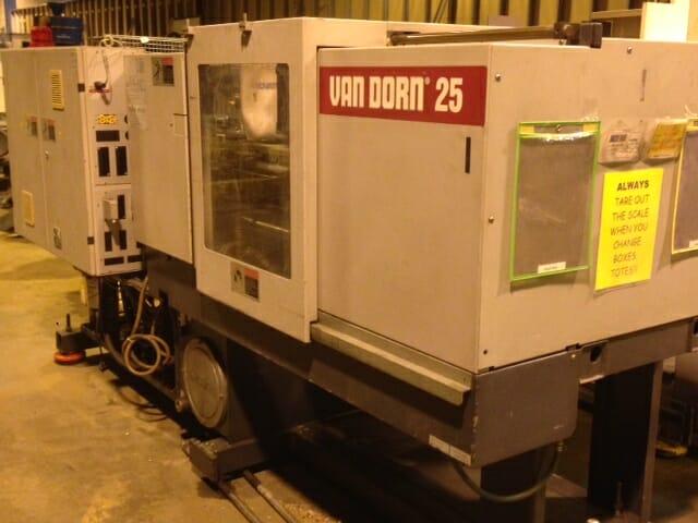 25 Ton Van Dorn   250-80 1 Van Dorn 25 ton