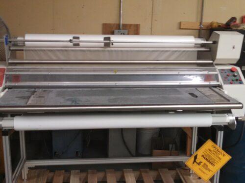 used ledco lamination machine