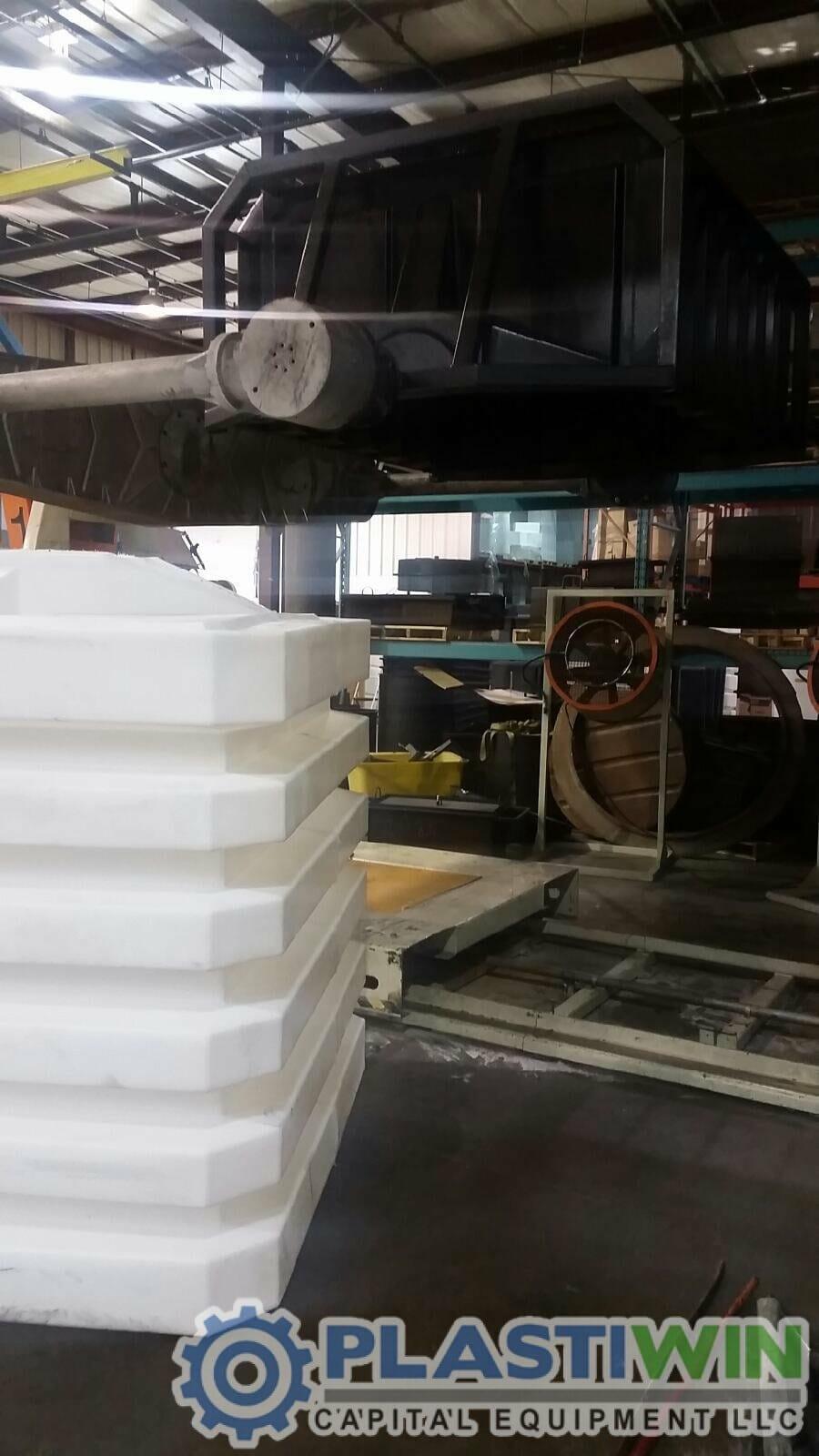 Rotoline 4 00 Xt Shuttle Rotational Molding Machine
