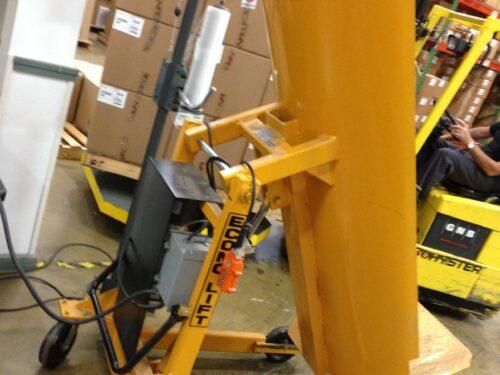 used econo lift drum tipper