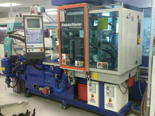 Used 80 Ton Krauss Maffei KM 80-190 CD Injection Molding Machine 1 Used 80 Ton Krauss Maffei KM 80-190 CD Injection Molding Machine