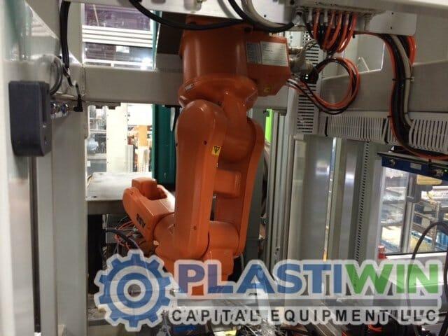 Used Used Abb Model Irb 120 Robot Plastiwin Capital