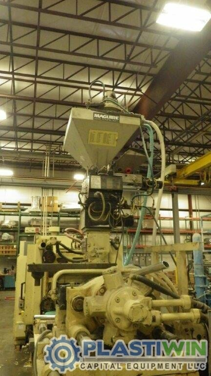 250 Ton Cincinnati Milacron Plastiwin Capital Equipment