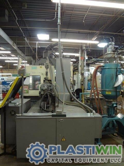 150 ton Nissei vertical injection molding machine