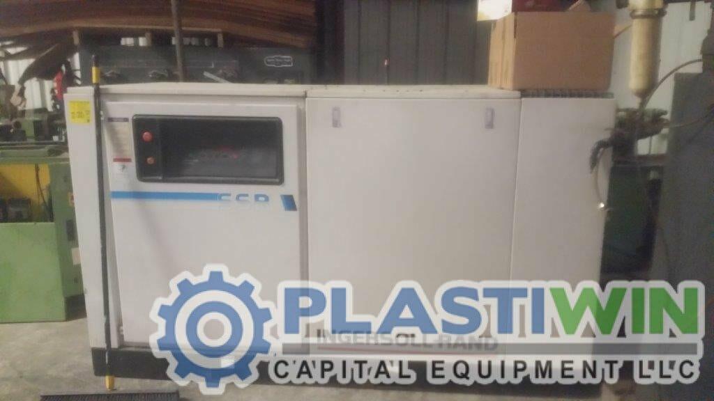 50 Hp Ingersoll Rand Compressor Plastiwin Capital Equipment