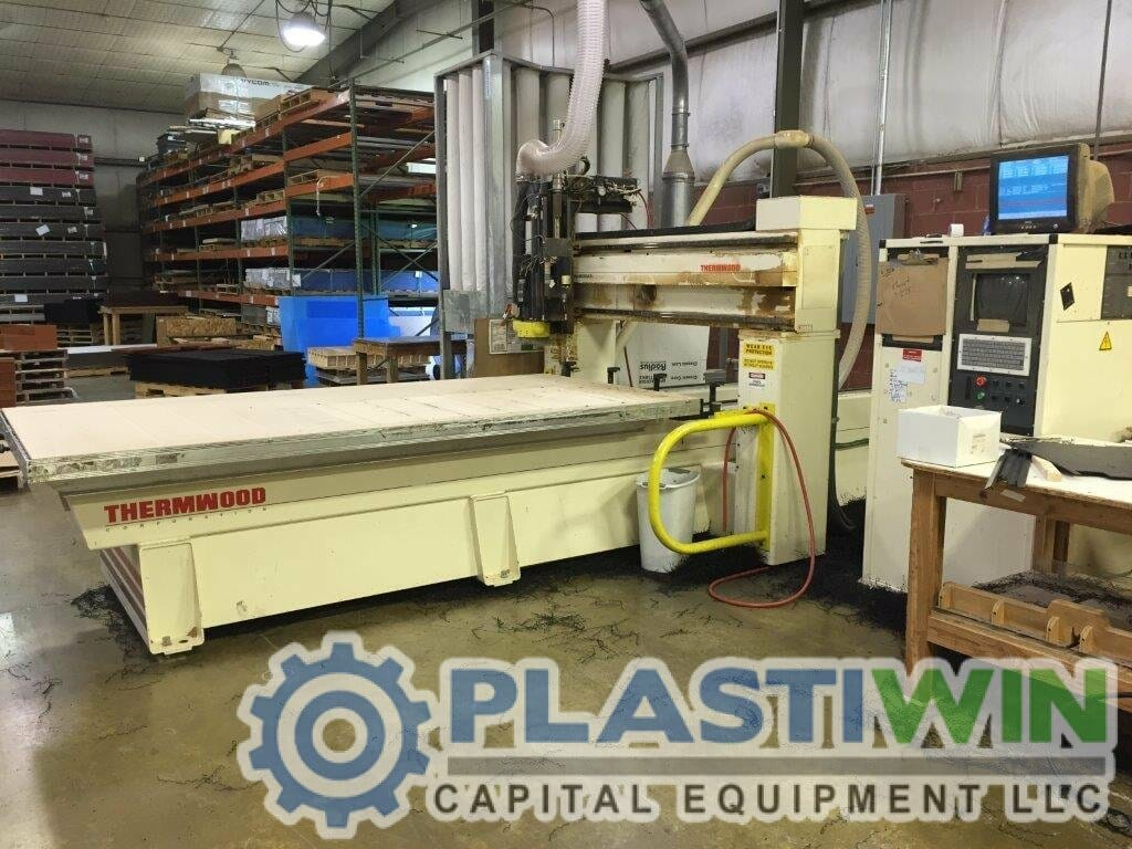 thermwood 3 axis cnc router plastiwin capital equipment. Black Bedroom Furniture Sets. Home Design Ideas