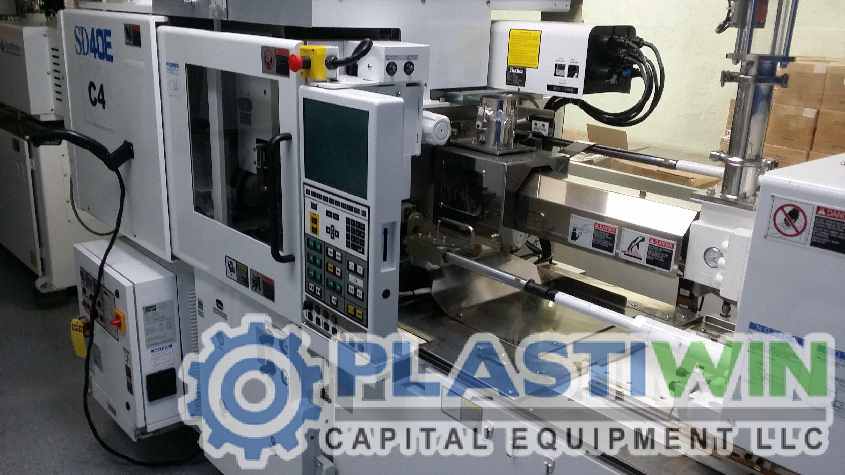Sumitomo Injection Molding Machine Plastiwin Capital