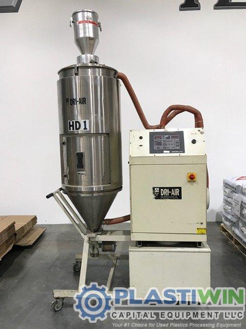 Air Drying Units : Used lb hr dri air hpd desiccant drying system