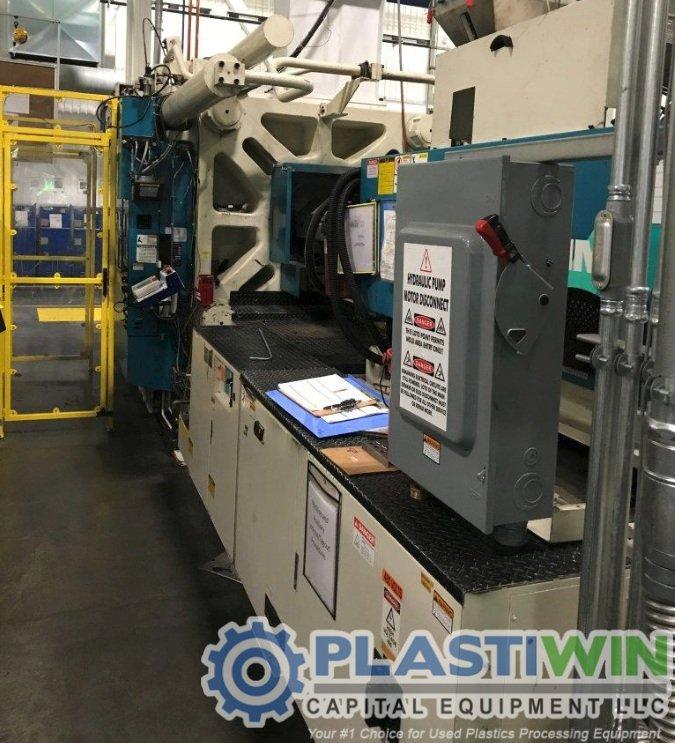 Used 1200 Ton Mitsubishi 1200MMJ-160 Injection Molding Machine | 2001 2 Used 1200 Ton Mitsubishi 1200MMJ-160 Injection Molding Machine