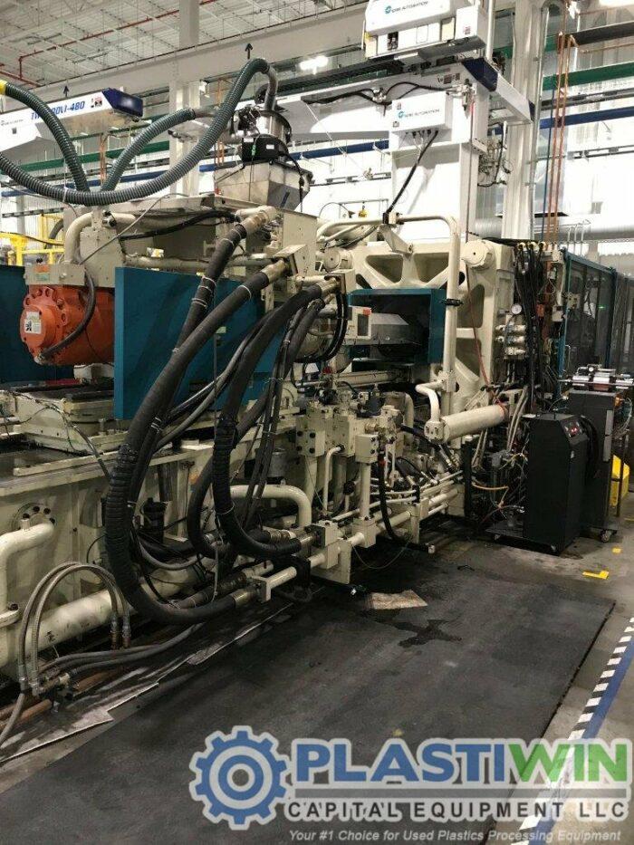 Used 1200 Ton Mitsubishi 1200MMJ-160 Injection Molding Machine | 2001 4 Used 1200 Ton Mitsubishi 1200MMJ-160 Injection Molding Machine