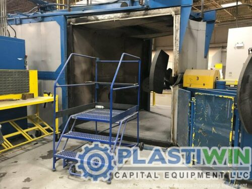 Used Ferry RS-220 3-Arm Rotational Molding Machine