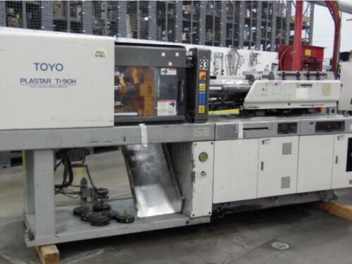 Used 90 Ton Toyo Plastar Ti-90H Injection Molding Machine 1 Used 90 Ton Toyo Plastar Ti-90H Injection Molding Machine