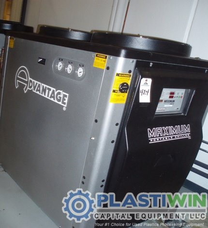 Used 10 Ton Advantage M 10ale 41hfx Air Cooled Chiller