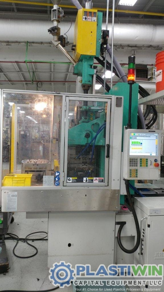 Used 55 Ton Arburg ALLROUNDER 375V500-290 Vertical Vertical Rotary  Injection Molding Machine