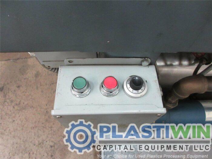 "2.5"" 60 HP Welex 30:1 L/D Single Screw Extruder"