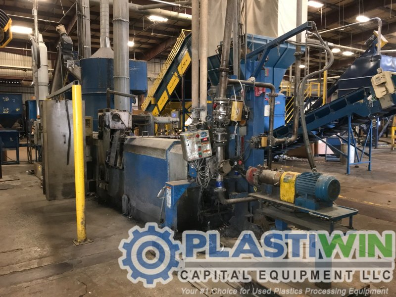 Southern US Compounder Selling (3) Erema Recycling Pelletizing Lines