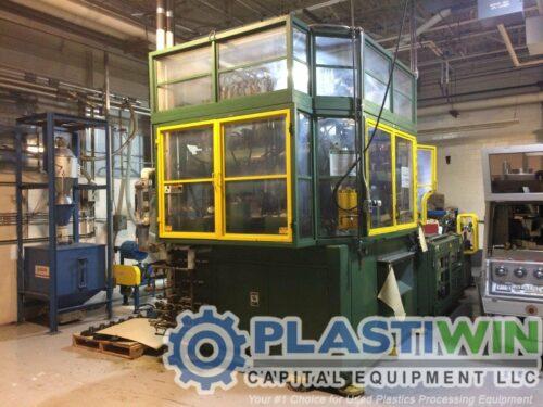 Nissei ASB-650 One Step Stretch Blow Molding Machine