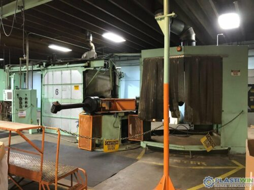 McNeil 1500-88 3-Arm Rotational Molding Machine 1 McNeil 1500-88 3-Arm Rotational Molding Machine