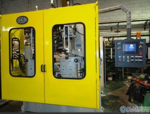used bekum h121 triple head blow molding machine