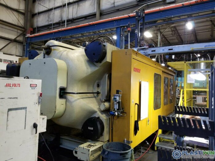 Used 1650 Ton Husky D1500 RS140/130 Injection Molding Machine 1 Used 1650 Ton Husky D1500 RS140/130 Injection Molding Machine