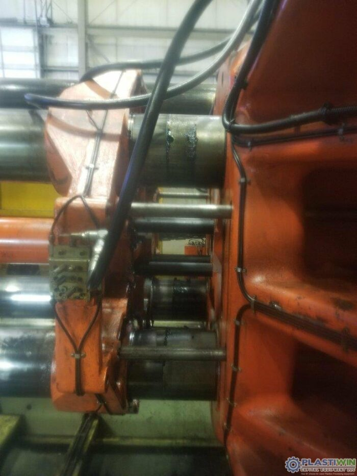Used 1650 Ton Husky D1500 RS140/130 Injection Molding Machine 2 Used 1650 Ton Husky D1500 RS140/130 Injection Molding Machine