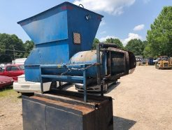 Used Haul All Twister Model AP 20 Compression Rotary Auger Compactors 2