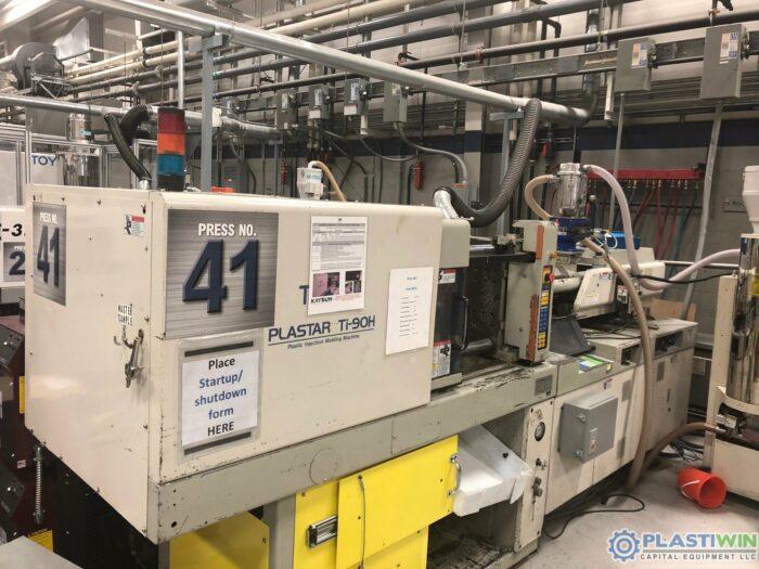 Used 90 Ton Toyo Ti-90H Injection Molding Machine