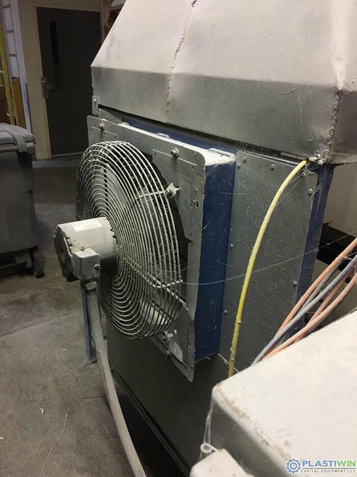 Used Lab 2-Arm Rotational Molding Machine (1)