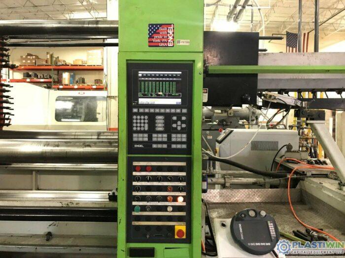 Used 750 Ton Engel ES10000/750WP Injection Molding Machine 1 Used 750 Ton Engel