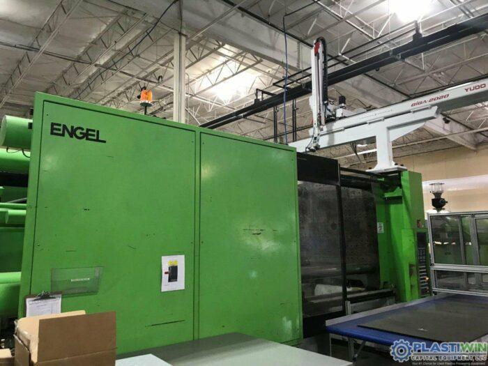Used 750 Ton Engel ES10000/750WP Injection Molding Machine 4 Used 750 Ton Engel