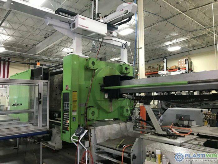Used 750 Ton Engel ES10000/750WP Injection Molding Machine 6 Used 750 Ton Engel