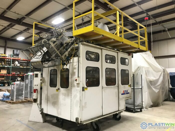 Used Lyle Model 130P2 Thermoforming Trim Press