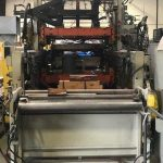 used lyle model 250 fh inline thermoformer