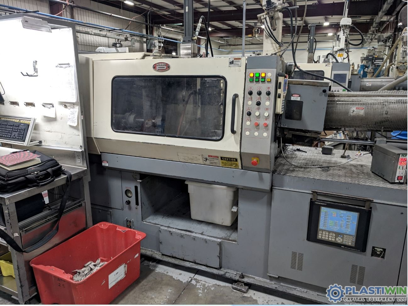 Used 154 Ton Nissei FN3000 Injection Molding Machine