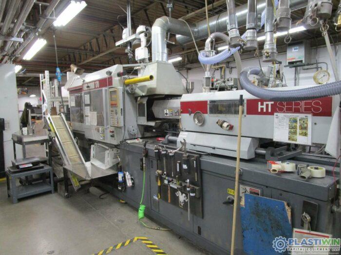 Used 170 Ton Van Dorn HT Injection Molding Machine 3
