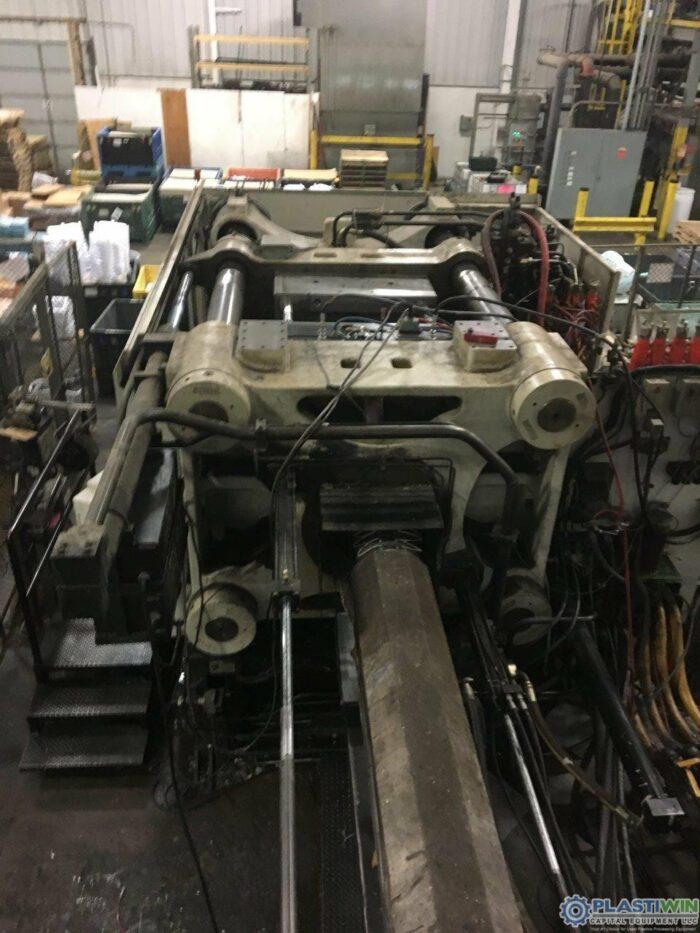 Used 1100 Ton Cincinnati Milacron MM1100-413 Injection Molding Machine 2004 9 used 1100 ton cincinnati milacron