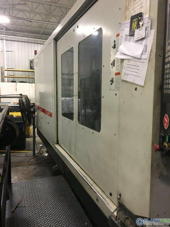 Used 1100 Ton Cincinnati Milacron MM1100-413 Injection Molding Machine 2004 2 used 1100 ton cincinnati milacron
