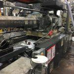 Used 1100 Ton Cincinnati Milacron MM1100-288 Injection Molding Machine