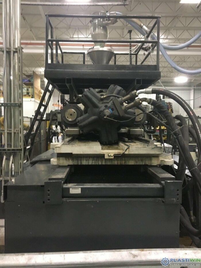 Used 1100 Ton Cincinnati Milacron MM1100-413 Injection Molding Machine 5 used 1100 ton cincinnati