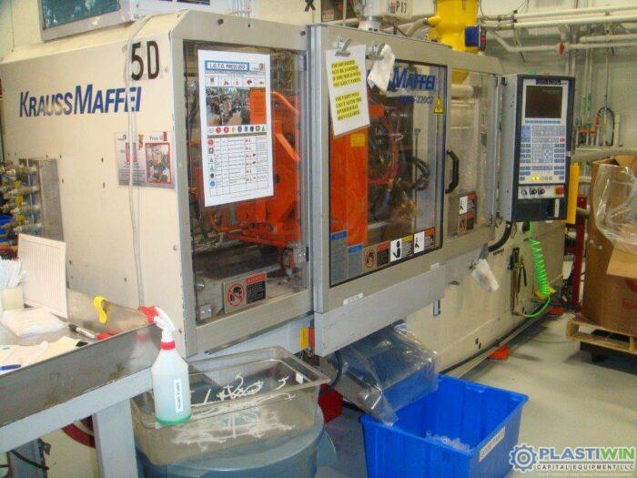 Used 65 Ton Krauss Maffei 65-220C2 Injection Molding Machine
