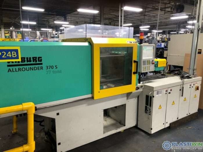 Used 77 Ton Arburg Model 370 S 700-100 Injection Molding Machine 1 Used 77 Ton Arburg Model 370 S 700-100 Injection Molding Machine