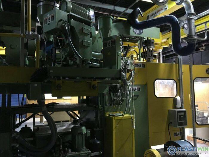 Used Bekum BM-502S 3 Layer Co-Extrusion Blow Molding Machine