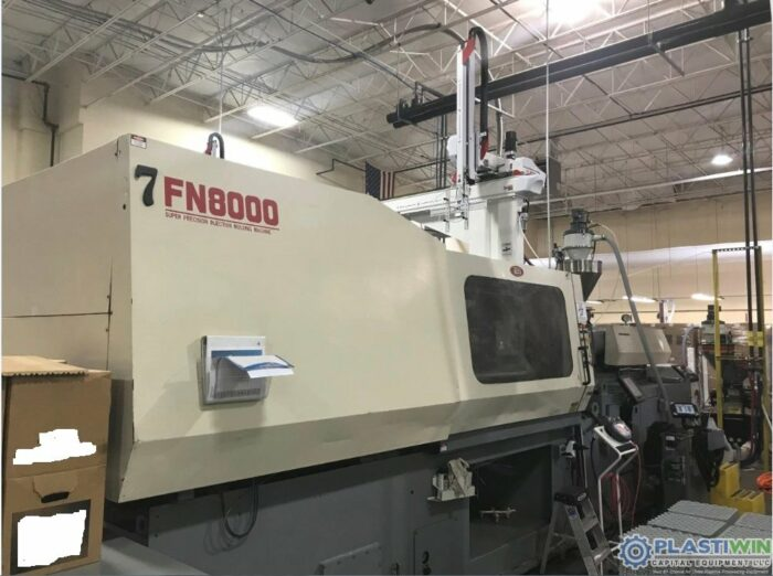 Used 500 Ton Nissei FN8000 Injection Molding Machine