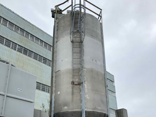 Used 55,000 lbs. Sprout Waldrin Vertical Mixing Silo