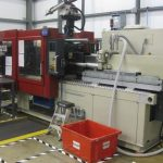 Used 132 Ton Negri Bossi VE120-440 All-Electric Injection Molding Machine