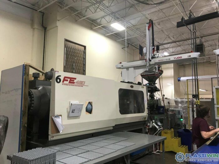 Used 500 Ton Nissei FE460 Injection molding Machine 1 Used 500 Ton Nissei FE460 Injection molding Machine