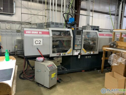 Used 80 Ton Van Dorn Ergotech - 80 Injection Molding Machine