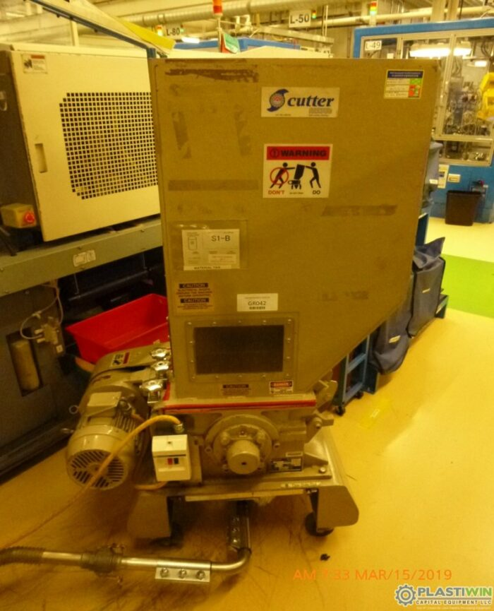 2 HP Nissui FNSK-15SC Low RPM Grinder