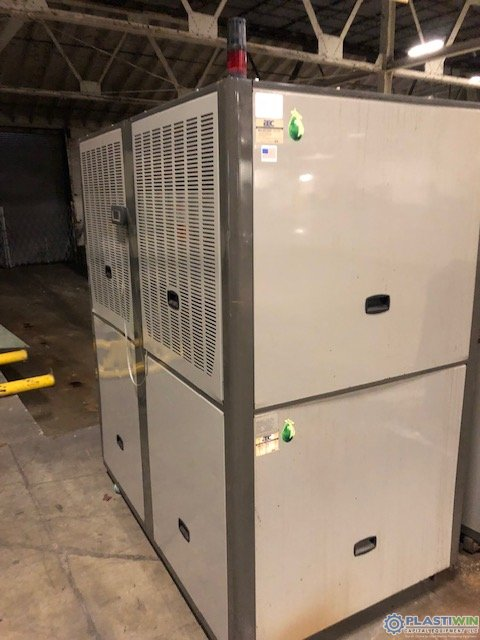 used aec gpwc70 water cooled chiller